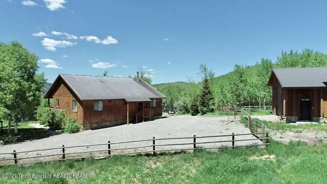 2401 Hillside Loop Rd, Thayne, WY 83127 (MLS #21-784) :: Coldwell Banker Mountain Properties
