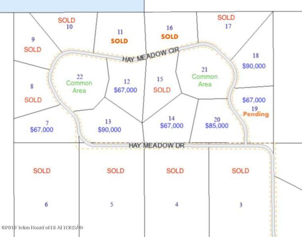 TBD Hay Meadow Cir, Pinedale, WY 82941 (MLS #18-129) :: West Group Real Estate