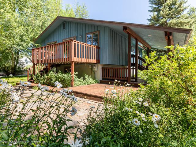 1010 Cache Creek Drive, Jackson, WY 83001 (MLS #19-1336) :: Sage Realty Group