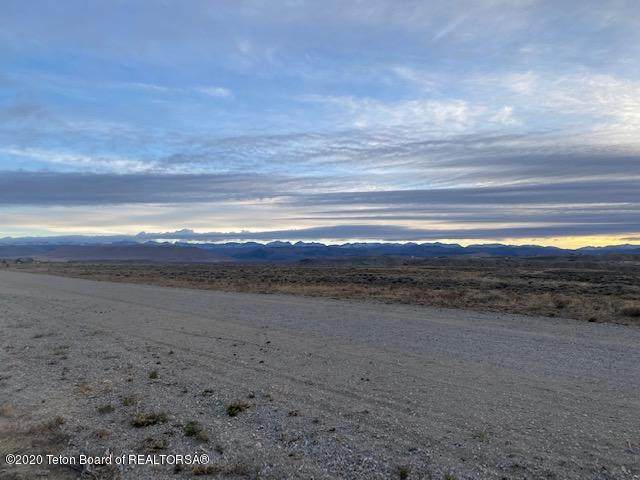 LOT 20 Blackburn Lane, Pinedale, WY 82941 (MLS #20-3194) :: West Group Real Estate