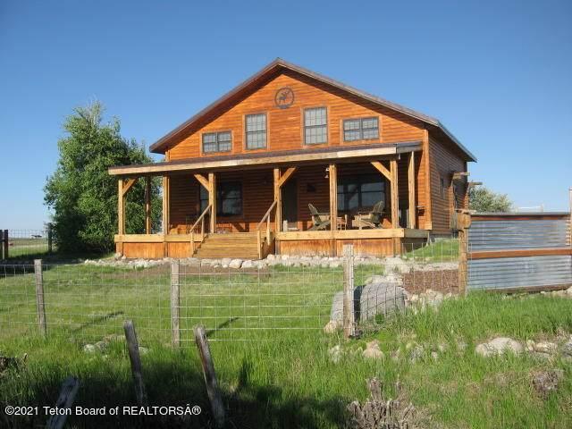 37 N Sitting Bull Rd, Daniel, WY 83115 (MLS #21-2067) :: Coldwell Banker Mountain Properties