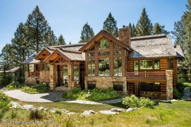 3730 W Curtis Drive, Teton Village, WY 83025 (MLS #21-192) :: Coldwell Banker Mountain Properties