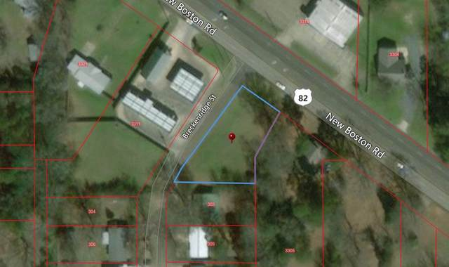 3309 New Boston Rd, Texarkana, TX 75501 (MLS #104374) :: Better Homes and Gardens Real Estate Infinity