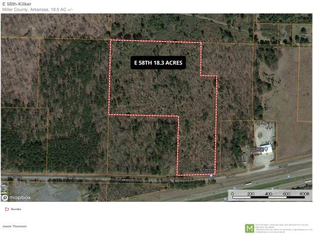 18.3 acres E. 58th St., Texarkana, AR 71854 (MLS #105110) :: Better Homes and Gardens Real Estate Infinity