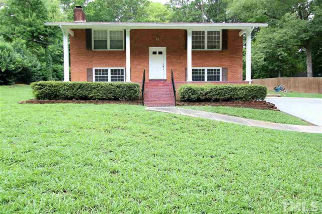 5202 Olive Road, Raleigh, NC 27606 (#2205755) :: The Jim Allen Group