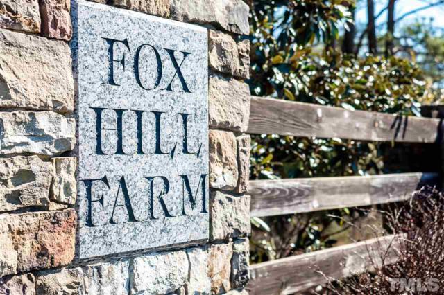 Lot 187 Fox Hill Farm Drive, Hillsborough, NC 27278 (#2050849) :: Raleigh Cary Realty