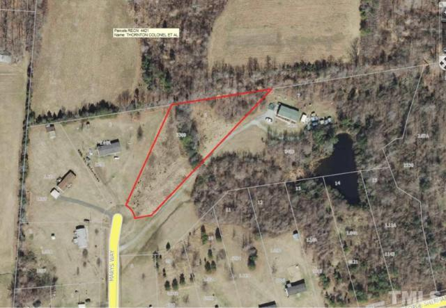 Lot 6 George Sherman Road, Rougemont, NC 27572 (#2124913) :: The Jim Allen Group