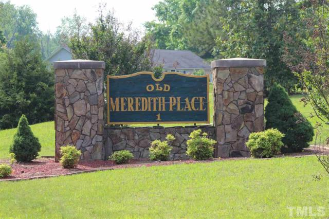Lot 30 Meredith Drive, Rougemont, NC  (#2130762) :: Raleigh Cary Realty