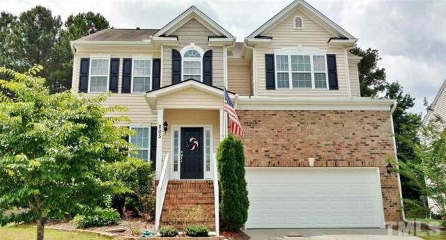 205 Sycamore Ridge Lane, Holly Springs, NC 27540 (#2134820) :: Raleigh Cary Realty