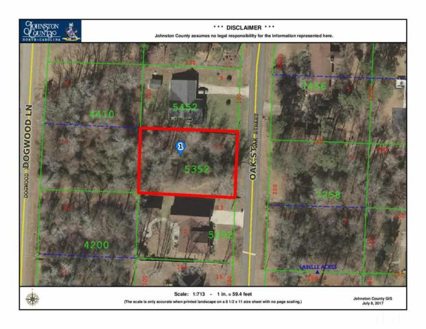 Lot 11 Oak, Pine Level, NC 27568 (#2138843) :: The Abshure Realty Group