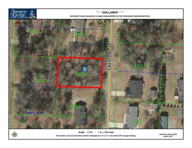 Lot 8 Crescent Street, Pine Level, NC 27568 (#2138852) :: The Abshure Realty Group