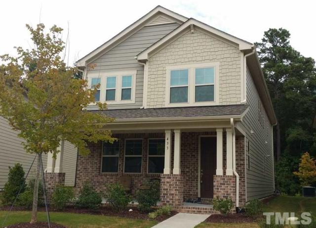433 Liberty Hill Pass, Morrisville, NC 27560 (#2144446) :: Triangle Midtown Realty