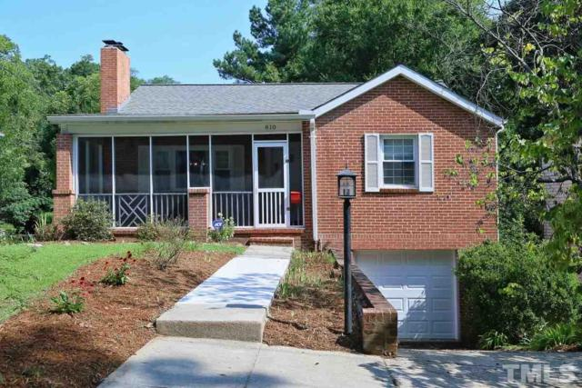 810 W Knox Street, Durham, NC 27701 (#2146454) :: Raleigh Cary Realty