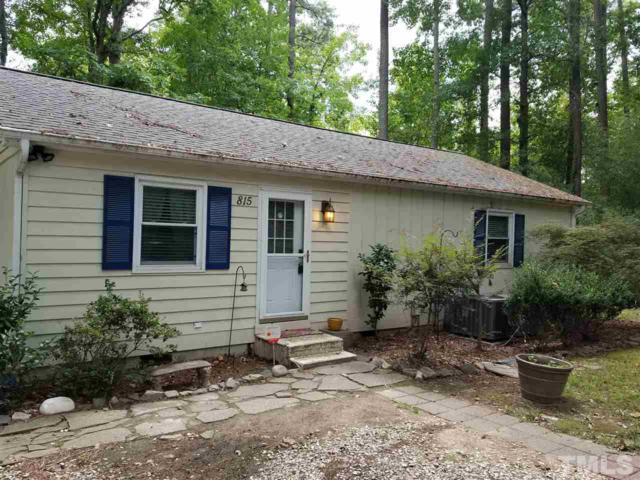 815 Griffis Street, Cary, NC 27511 (#2146527) :: Raleigh Cary Realty