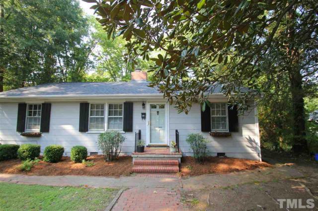 209 Hill Street, Chapel Hill, NC 27514 (#2150875) :: Marti Hampton Team - Re/Max One Realty