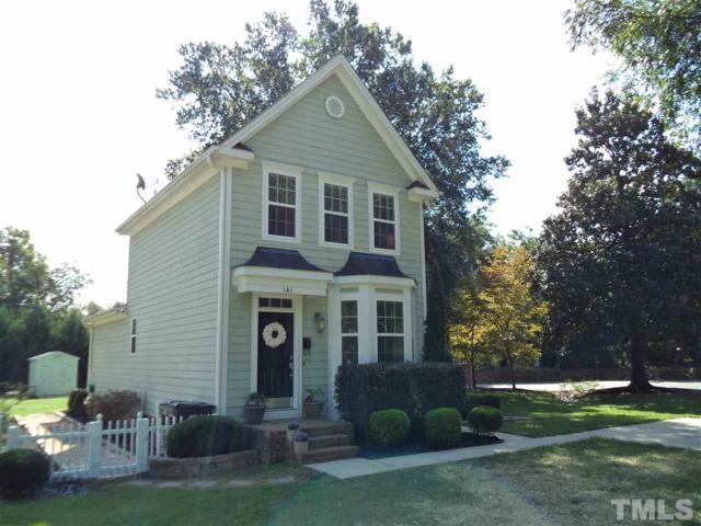141 Raleigh Street, Holly Springs, NC 27540 (#2151838) :: Marti Hampton Team - Re/Max One Realty