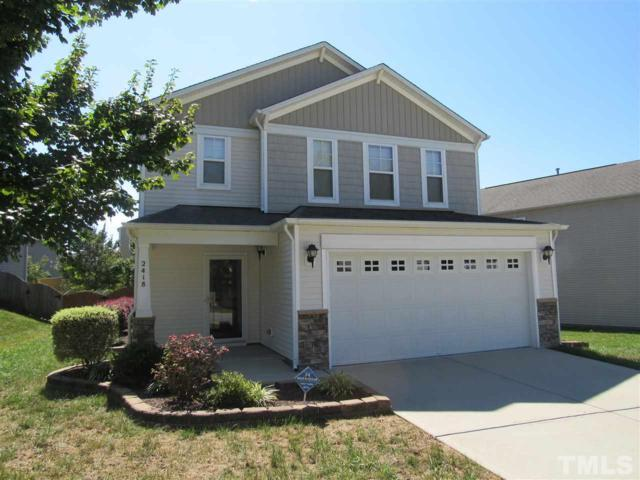 2418 Ferdinand Drive, Knightdale, NC 27545 (#2152910) :: The Jim Allen Group