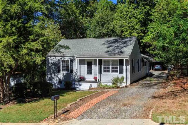 407 Columbia Drive, Raleigh, NC 27604 (#2155283) :: The Abshure Realty Group