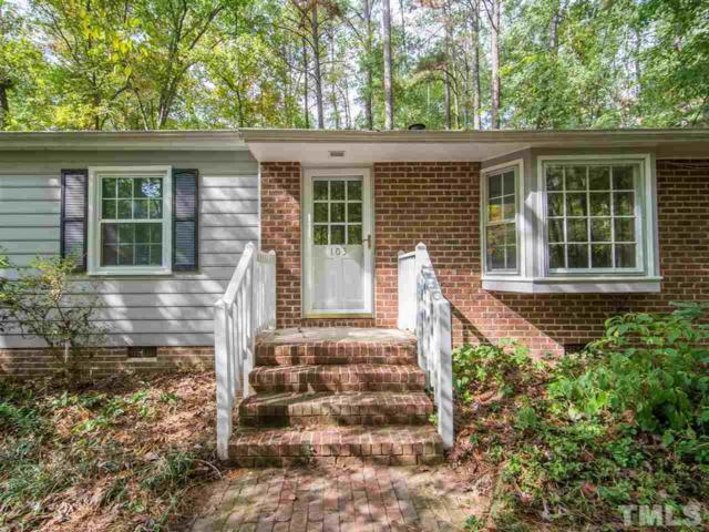 103 Kings Mountain Court, Chapel Hill, NC 27516 (#2156298) :: The Jim Allen Group