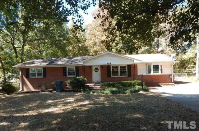 305 Chandler Road, Durham, NC 27703 (#2156560) :: Triangle Midtown Realty