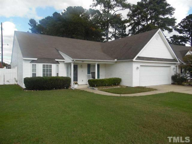 609 Weathervane Way, Rocky Mount, NC 27803 (#2156755) :: The Abshure Realty Group