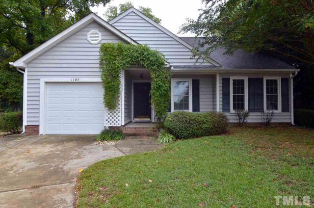 1107 Woodbriar Street, Apex, NC 27502 (#2156839) :: The Abshure Realty Group