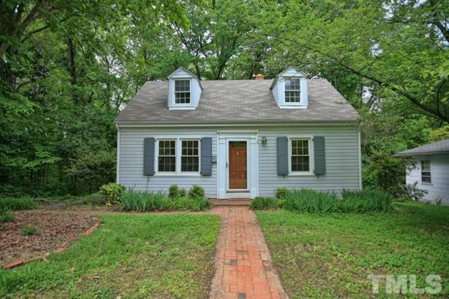 106 W Woodridge Drive, Durham, NC 27707 (#2157687) :: Raleigh Cary Realty