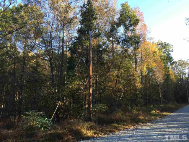Lot 20 Lockamy Road, Timberlake, NC 27583 (#2158151) :: Rachel Kendall Team, LLC