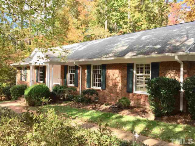 1706 Michaux Road, Chapel Hill, NC 27514 (#2159484) :: Raleigh Cary Realty