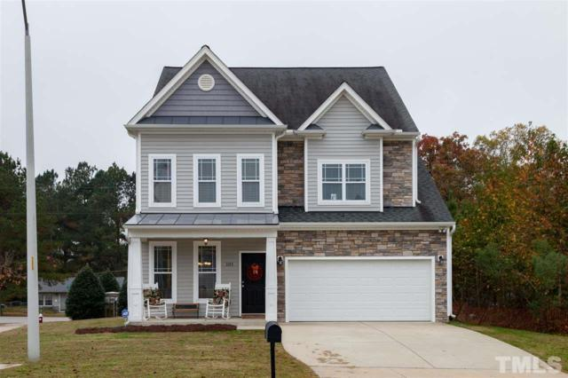 101 Dunster Drive, Fuquay Varina, NC 27526 (#2160078) :: Raleigh Cary Realty