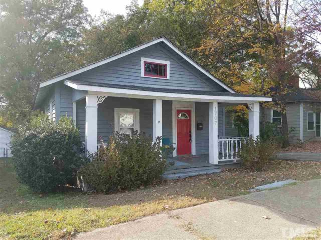 1707 Center Road, Raleigh, NC 27608 (#2161080) :: Marti Hampton Team - Re/Max One Realty