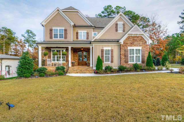 201 Honeyridge Lane, Holly Springs, NC 27540 (#2161715) :: The Jim Allen Group