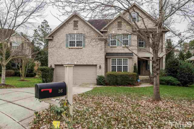 16 Stonehouse Court, Durham, NC 27713 (#2163689) :: The Jim Allen Group