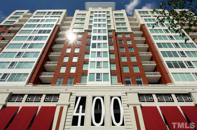 400 W North Street #1410, Raleigh, NC 27603 (#2163794) :: Raleigh Cary Realty