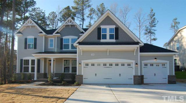 128 Park Bluff Drive, Holly Springs, NC 27540 (#2164099) :: Triangle Midtown Realty