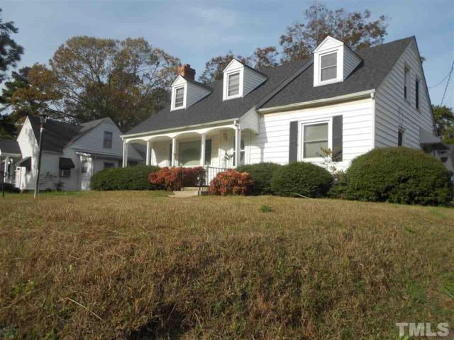 823 Montgomery Street, Henderson, NC 27536 (#2164218) :: Triangle Midtown Realty