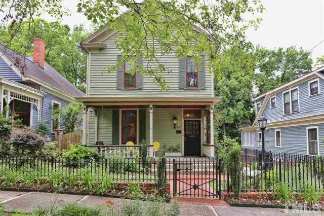519 N East Street, Raleigh, NC 27604 (#2166104) :: The Jim Allen Group