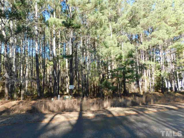 Lot 24 Whitney Drive, Louisburg, NC 27549 (#2167215) :: The Jim Allen Group