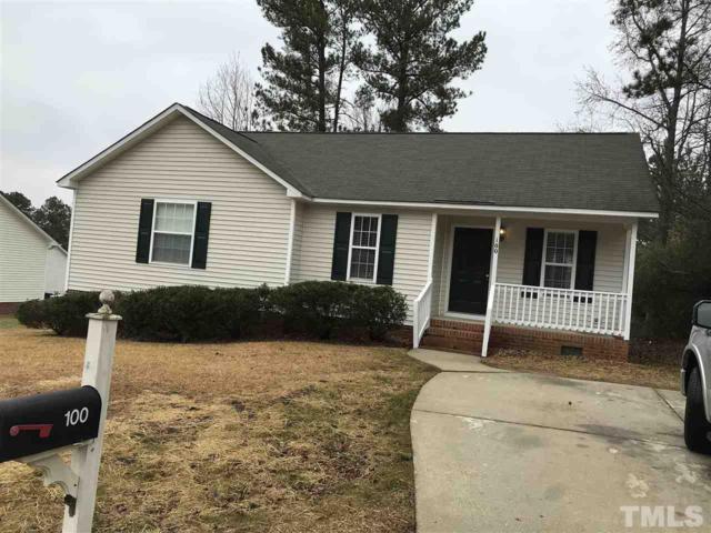100 Weston Ridge Run, Garner, NC 27529 (#2167831) :: Raleigh Cary Realty