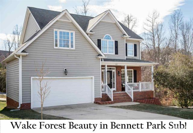 713 Bennett Ridge Court, Wake Forest, NC 27587 (#2167904) :: Rachel Kendall Team, LLC