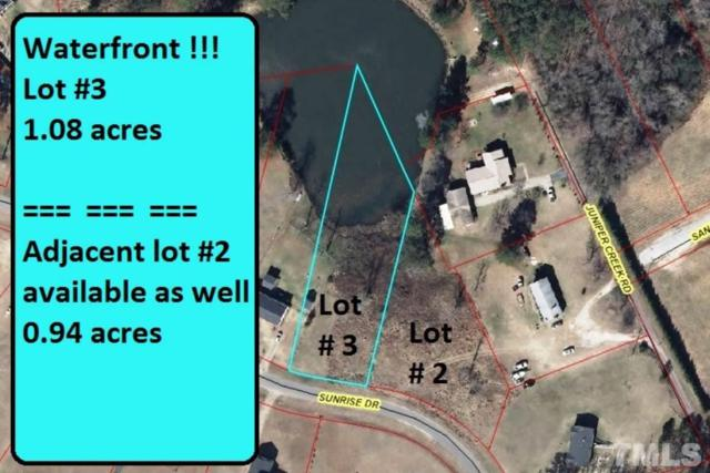 Lot 3 Sunrise Drive, Sanford, NC 27330 (#2168084) :: Rachel Kendall Team, LLC