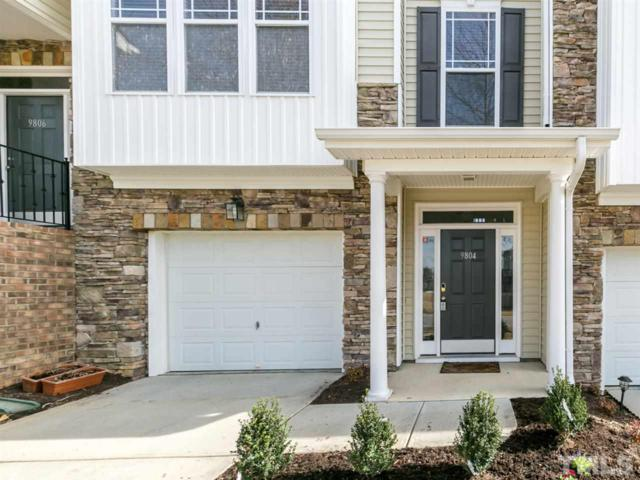 9804 Rainsong Drive, Wake Forest, NC 27587 (#2168145) :: Rachel Kendall Team, LLC