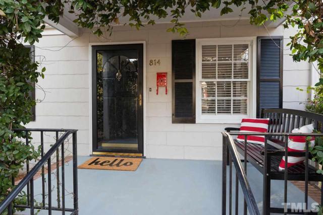 814 Chamberlain Street, Raleigh, NC 27607 (#2168341) :: Raleigh Cary Realty