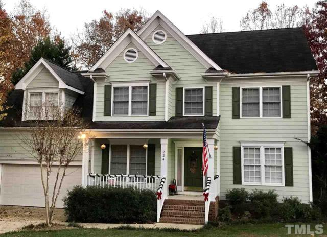 224 Dutch Hill Road, Holly Springs, NC 27540 (#2168602) :: Marti Hampton Team - Re/Max One Realty