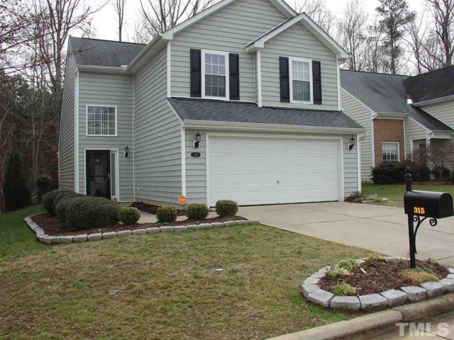 315 Inkster Cove, Raleigh, NC 27603 (#2169471) :: The Jim Allen Group