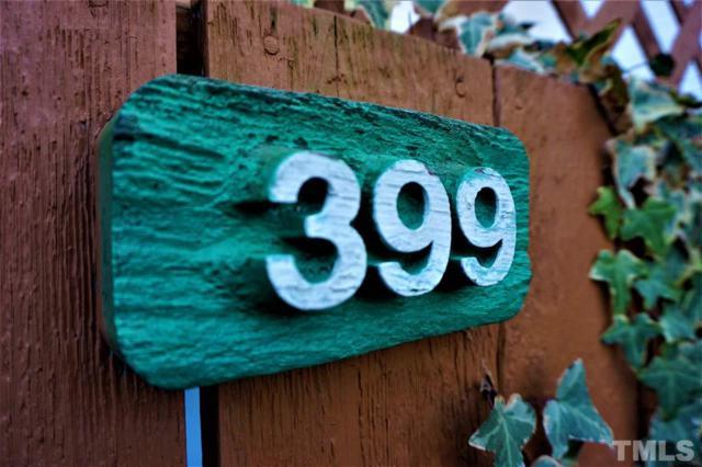 399 Summerwalk Circle #399, Chapel Hill, NC 27517 (#2169906) :: Raleigh Cary Realty