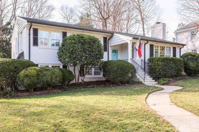 813 Yarmouth Road, Raleigh, NC 27607 (#2170092) :: Raleigh Cary Realty