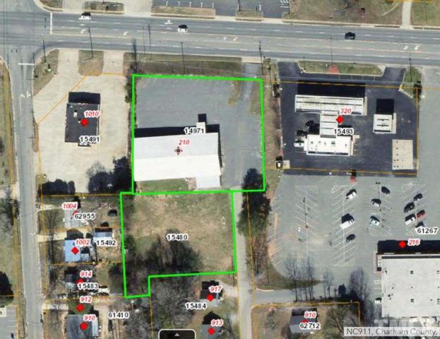 210 E Eleventh Street, Siler City, NC 27344 (#2170130) :: The Jim Allen Group