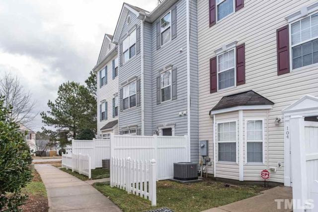 8630 Neuse Landing Lane #105, Raleigh, NC 27616 (#2170236) :: Raleigh Cary Realty