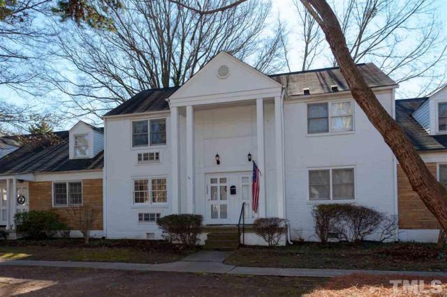 1020 Nichols Drive #5, Raleigh, NC 27605 (#2172401) :: Marti Hampton Team - Re/Max One Realty